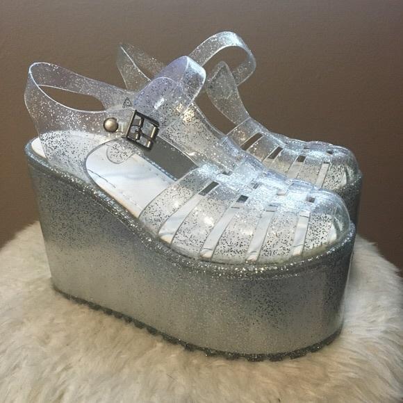 UNIF Shoes | Unif Hella Jelly | Poshmark